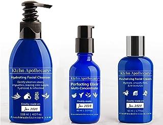 Premium Collection   Ktchn Apothecary Fresh-Made Skincare: Hydrating Facial Cleanser + Revitalizing Facial Cream + Perfecting Elixir Facial Serum   ($125 Value)