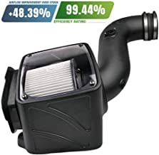 S&B Filters 75-5080D Cold Air Intake for 2006-2007 Chevy / GMC Duramax LLY-LBZ 6.6L (Dry Extendable Filter)