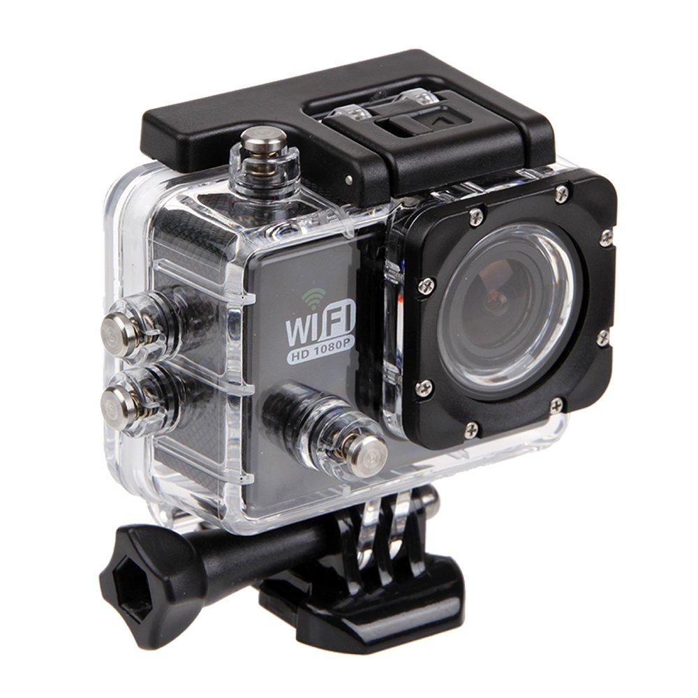 Kingwon Funda Protectora para Cámaras de Acción SJ6000/ Campark ACT58 y más modelos de cámaras deportivas,diseño impermeable y apto para buceo: Amazon.es: Deportes y aire libre