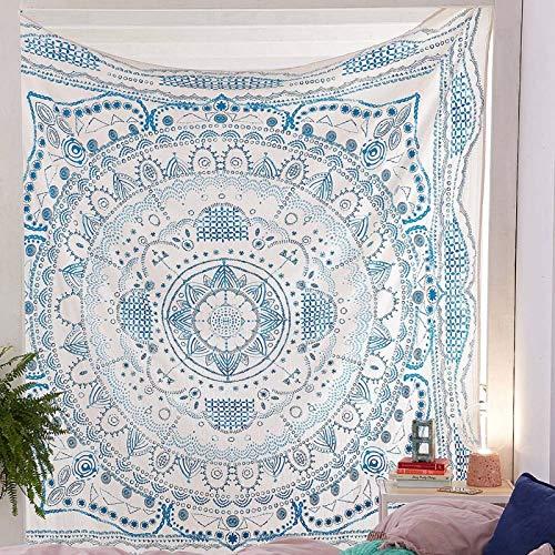 Tapiz Tai Chi tapiz colgante de pared hippie negro marrón tapiz decorativo estera de yoga