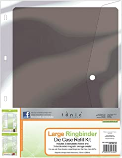 TONIC STUDIOS 348e Large Ringbinder Die Case Refill Set, Grey