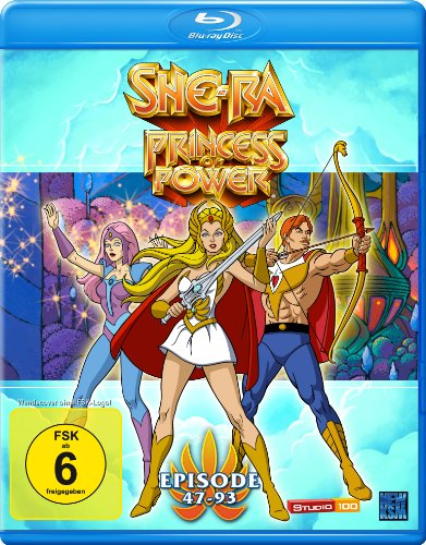 She-Ra - Princesss of Power (Episode 47-93) [Blu-ray] [Alemania]