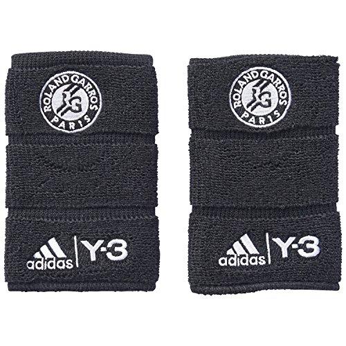 adidas Schweißbänder Roland Garros Y-3 black-y3/white/white Herren