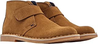Joules Junior Suede Desert Boots - Sand