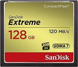 SanDisk Extreme 128GB CompactFlash Memory Card...