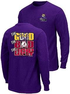 LSU Tigers The Good Bad Ugly Purple Long Sleeve T Shirt