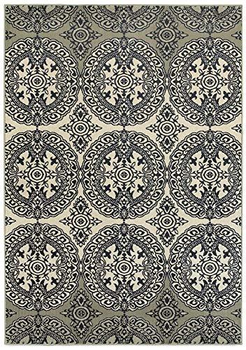 Oriental Weavers Teppich, Marineblau/Elfenbein