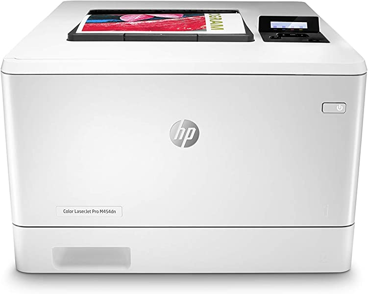 HP Color LaserJet Pro M454dn Printer W1Y44A Ethernet Only