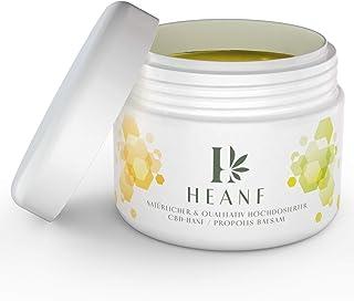 HEANF – Premium Bio CBD-Hanf und Propolis Balsam – besonders wirksam durch 400 mg CBD-Anteil – Inhalt 90 ml
