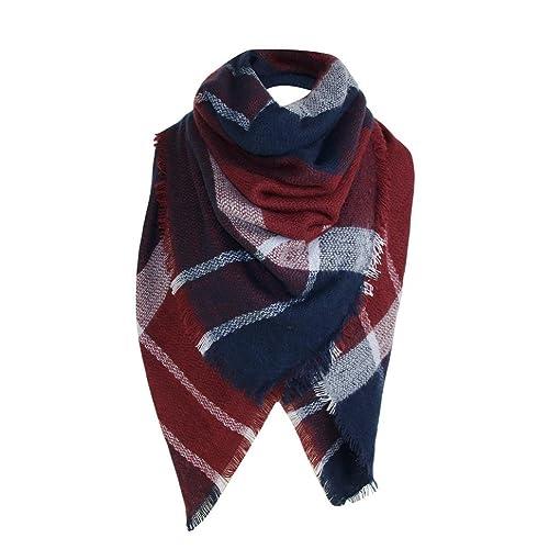 foulards , Tefamore Mode Lady Femmes Longue enveloppe souple Lady Châle Écharpe  Écharpe Collier écharpe 4e6af51d540