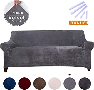 Best velvet loose sofa covers Reviews