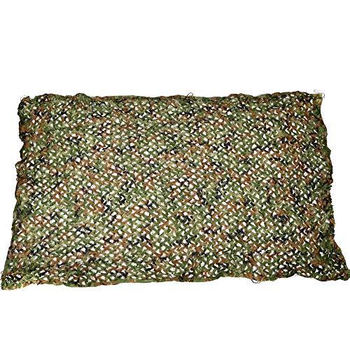 Lyy Home 3D Militär Jagd Camo Tarnnetz Sonnenschutz Kinder 2Mx3M Dschungel Oxford Tuch Tarnung Net Regenschirm, Militärische Waldjagd Schießen Versteckt, Outdoor-Zelt (Size : 10m×20m)