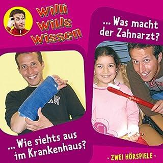 Wie siehts aus im Krankenhaus? / Was macht der Zahnarzt?     Willi wills wissen 8              Autor:                                                                                                                                 Jessica Sabasch                               Sprecher:                                                                                                                                 Willi Weitzel                      Spieldauer: 1 Std. und 6 Min.     3 Bewertungen     Gesamt 5,0