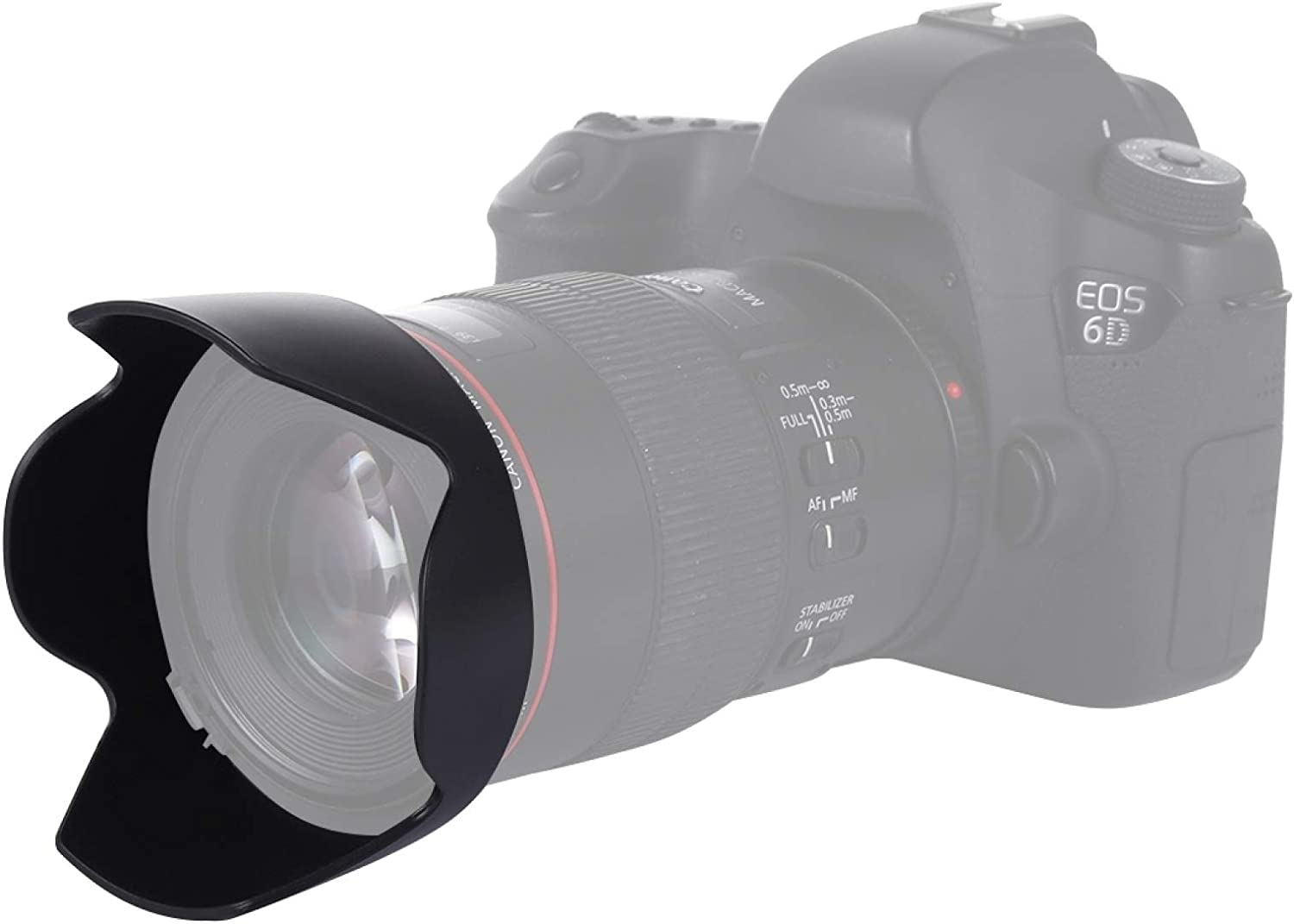 LUNCA EW-73B Ranking TOP16 Lens Hood Shade for Canon EF-S17-85 Len 4-5.6USM Cheap super special price is