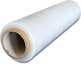 Pack of America Industrial Shrink Wrap | Plastic Stretch Wrapping Film | Packing & Moving Supplies | Pallets Furniture Boxes Shipment Protection | 1 Rolls Clear 18 x 1100 Foot 3 Core 80 Gauge