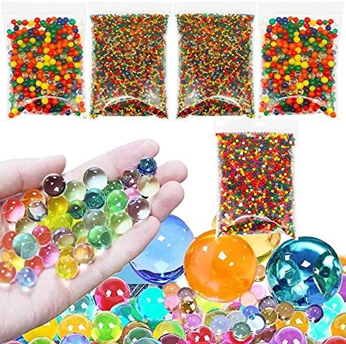 Water Beads Non Toxic - 400 Jumbo, 3000 Medium and 20000 Small Water...