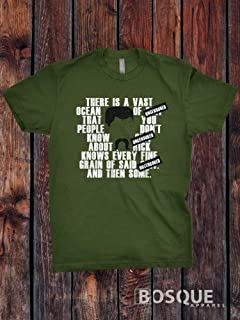 Abraham Ford quotes Uncensored Vast Ocean The Walking Dead Inspired TV Show T-Shirt/Adults T-shirt Top Tee Shirt - Ink Printed