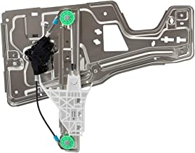 BROCK Power Window Regulator with Motor for 05-09 Chevrolet Equinox Drivers Rear Left Assembly Replacement 19210259 88980987