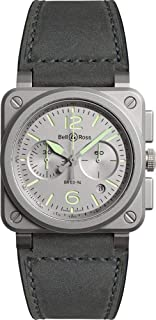 Instruments BR 03 (42 MM) Limited Edition Watch BR0394-GR-ST/SCA
