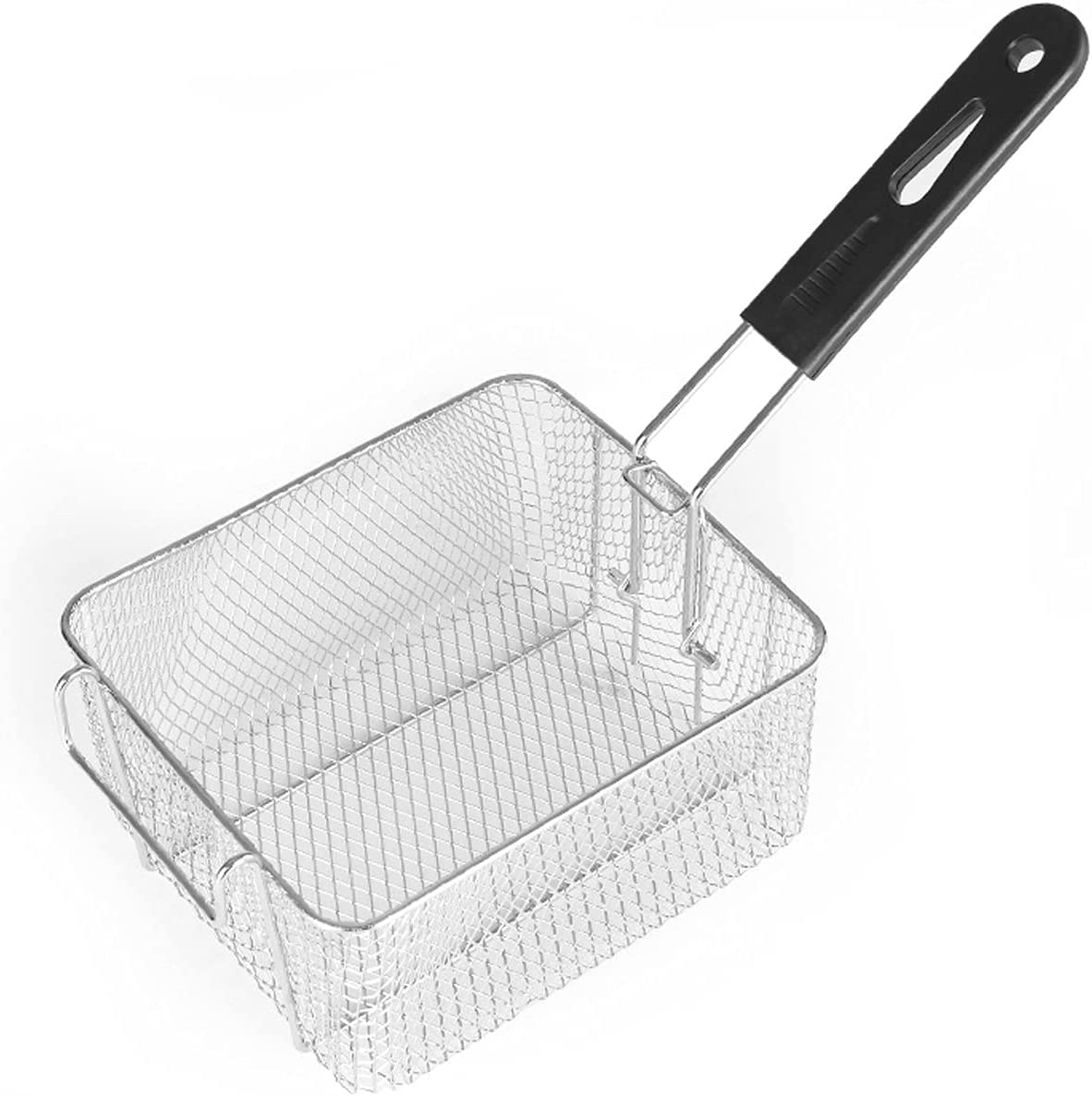 Fryer baskets Square Stainless Steel Basket Popular popular Detachab with Frying Max 63% OFF