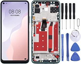 QGTONG-AE LCD Screen and Digitizer Full Assembly with Frame for Huawei Nova 7 SE
