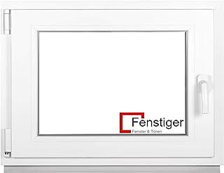 Fenster Kellerfenster Kunststofffenster Breite 100 cm 2 fach Verglasung Alle Gr/ö/ßen Dreh Kipp Wei/ß Premium BxH 100x75 DIN rechts