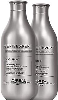 L'Oréal Professionnel Paris - Serie Expert Silver Shampoo professionale anti-giallo per capelli bianchi, grigi e iced blon...