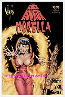 DARK HORROR OF MORELLA #1, NM-, Tim Vigil, Verotik, Glenn Danzig, 1999