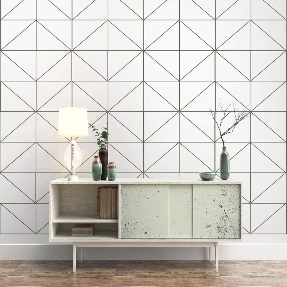 ZXDHNS New Attention brand color Wall Murals 3D - Geometric Creativity Self-Adhesiv Simple