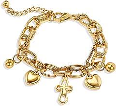 stainless steel christian bracelets
