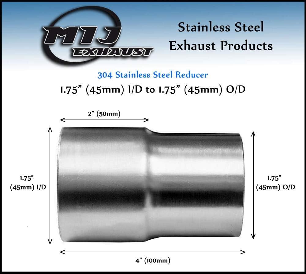 Rfvtgb Car Steel Exhaust 5 Step Reducer Pipe Cone 5 Step Universal Reducer