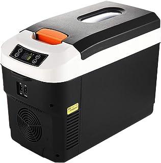 Glaci/ère /Électrique Chaud//Froid 0-66/°C AC//DC 6 L Mini Frigo de Chambre Mini-r/éfrig/érateur 12V // 220V Cuttey R/éfrig/érateur De Voiture 26.5x25x19/CM