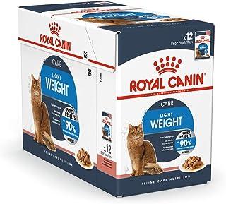 طعام قطط رطب الترا لايت من رويال كانين - 12×85 غرام