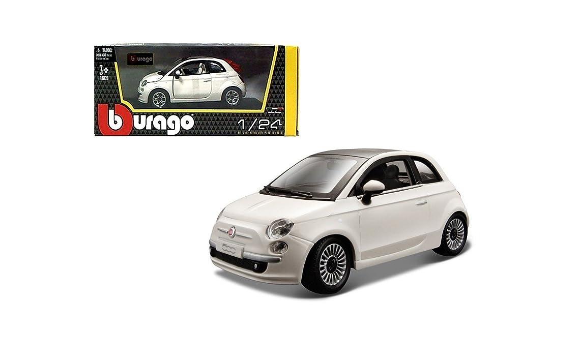 Bburago - Fiat 500 2007 1:24 (Assorted Colours)