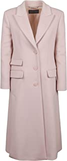 Alberta Ferretti Luxury Fashion Womens 06075130A0227 Pink Coat | Fall Winter 19