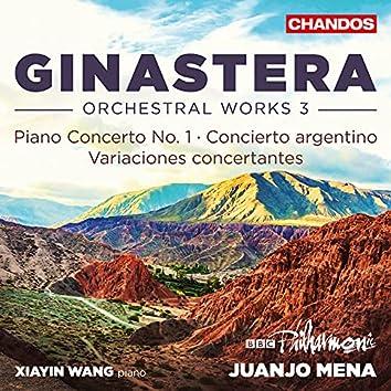 Ginastera: Orchestral Works, Vol. 3