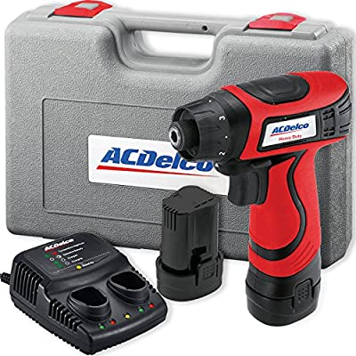 ACDelco ARD847 Li-Ion 8-volt Super Compact Drill/Driver Kit, 111 in-lbs