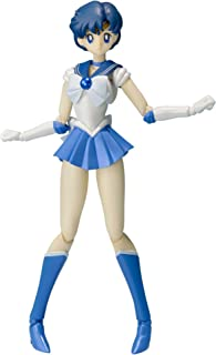 Bandai Tamashii S.H. Figuarts Sailor Mercury Action Figure, multi-colored