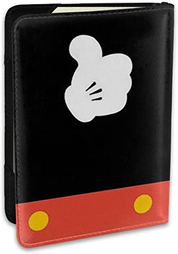 Mickey Mouse Good Travel Passport Cover Case For Men & Women – Passport Holder 5.5 Inch – Get Peace Of Mind When Traveling