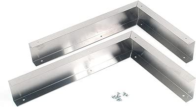 Whirlpool W10164745 Over-The-Range Microwave Trim Kit, Stainless steel