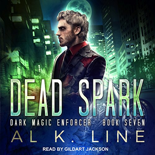 Dead Spark audiobook cover art