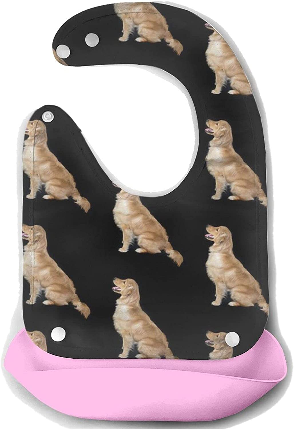 Courier shipping free shipping NiYoung Super Silicone Bib - Golden Mouth 55% OFF Baby Retriever To Dogs