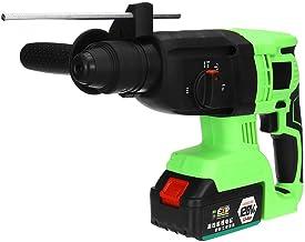 Destornillador de la herramienta de la máquina de perforación de uñas inalámbrico Ha Taladro eléctrico inalámbrico sin escobillas 128VF 16800mAh Martillo de impacto alto par y la batería recargable -