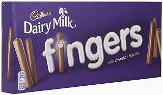 Cadbury Dairy Milk Fingers Chocolate Biscuits, 138 g