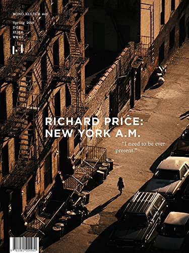 mono.kultur 45: Richard Price - New York A.M.