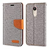 ZTE Nubia Z11 Max Case, Oxford Leather Wallet Case with