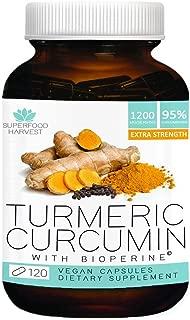 Best organic turmeric capsules with bioperine Reviews