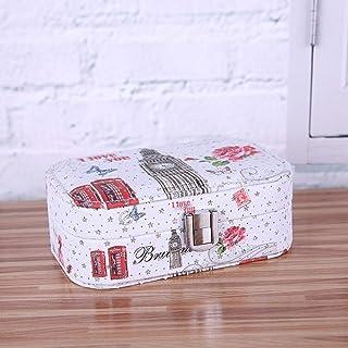 SXFYHXY Sacchetto cosmetico di Trasporto di Viaggio della Scatola di immagazzinaggio dei monili di Modo dell'unità di Elab...