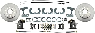 Speedway Disc Brake Conversion Kit w/E-Brake, Fits Ford 8 & 9 Inch