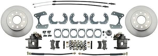 Speedway Disc Brake Conversion Kit w/E-Brake, Fits Ford 8 & 9 Inch
